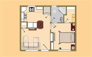 the new ricochet small house floor plan under 500 sq ft
