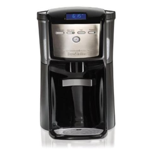 Dispenser Coffee Maker hamilton 12 cup coffee maker programmable brewstation dispensing coffee machine 47701
