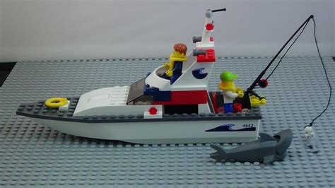 lego city fishing boat speed build how to time lapse build lego city fishing boat 4642 youtube