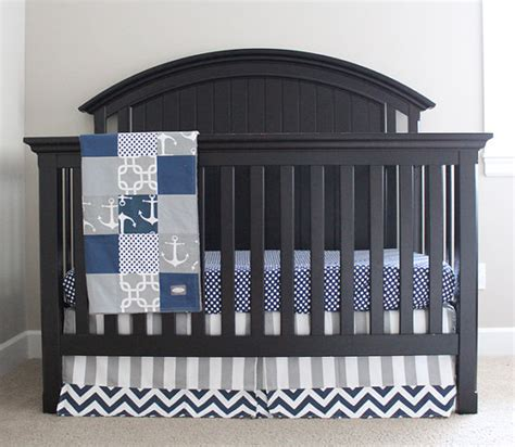 sailboat crib bedding nautical crib bedding custom crib bedding baby bedding crib