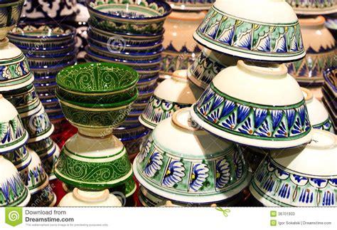 10 Things Made Of Ceramic - handmade traditional crockery stock photos image 36701933