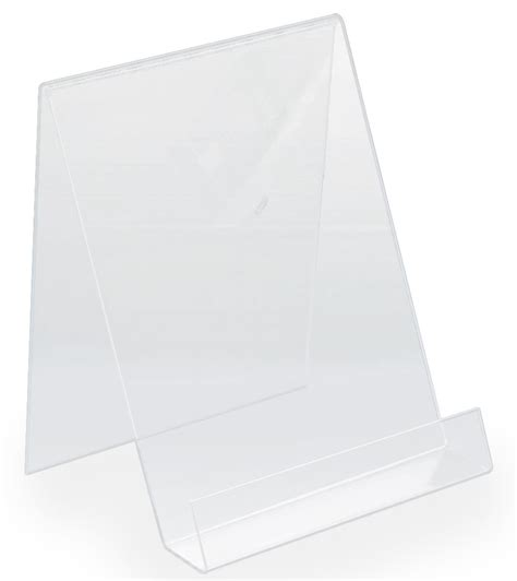 table top display acrylic easel for sales counter