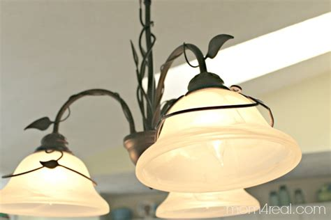 How To Clean A Chandelier Or Light Fixture Mom 4 Real Cleaning Light Fixtures