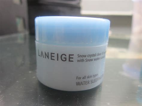 Harga Laneige Sleeping Pack Di Counter rumah kedua laneige water sleeping pack review