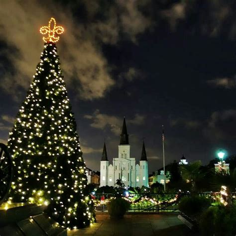 christmas time in jackson square sweet nola