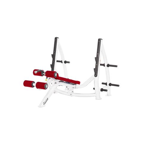hoist decline bench hoist fitness cf 3177 decline olympic bench krt