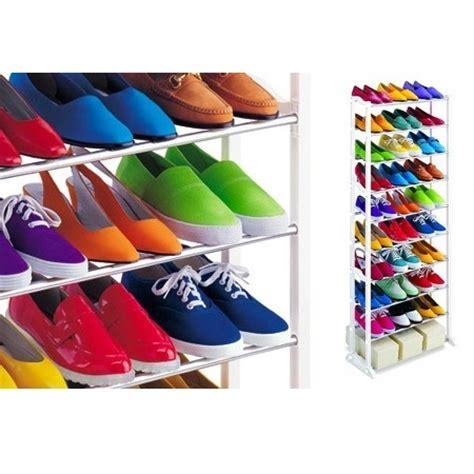 Shoes Organizer Organizer Sepatu 2 amazing shoes rack rak sepatu atau sandal white