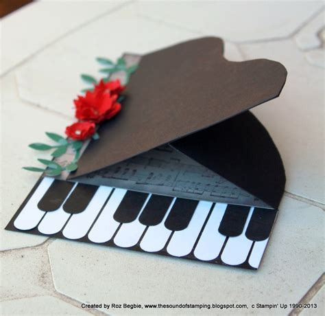 Handmade Piano - 17 best images about themed cards on