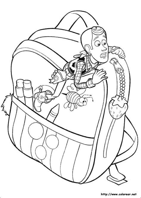 imagenes para colorear woody dibujos para colorear de toy story 3