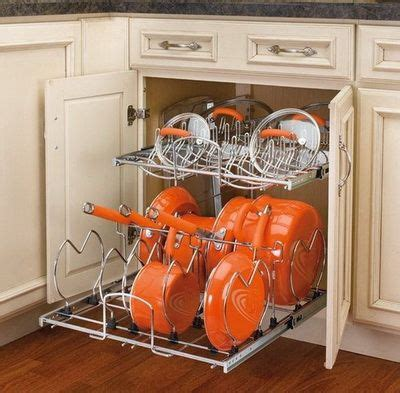 kitchen pan storage ideas best 25 pan storage ideas on pinterest pan organization