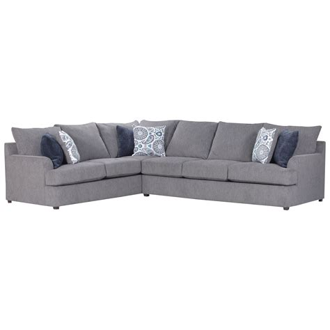 industries sectional sofa united furniture industries 8540br 8540brsectionalsofa