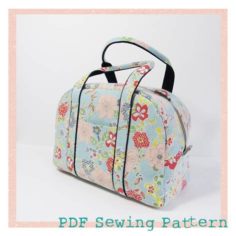 bag making pattern pdf funny rabbit boston bag and satchel pdf pattern