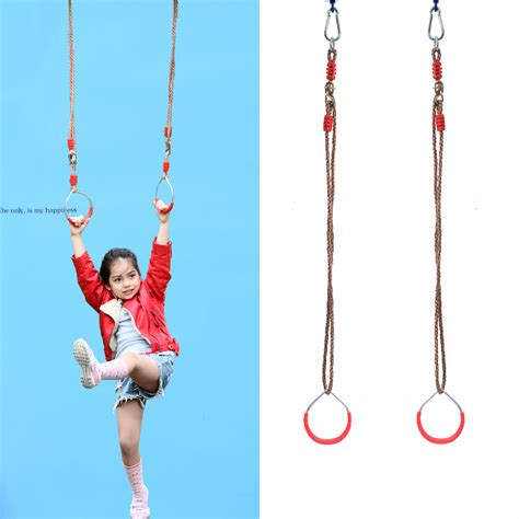 swinging rings gymnastics metal outdoor swings promotion shop for promotional metal