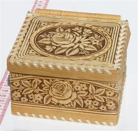 como decorar una caja para guardar joyas cajas de madera