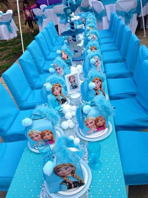 Home Made Wedding Decorations by Frozen Party