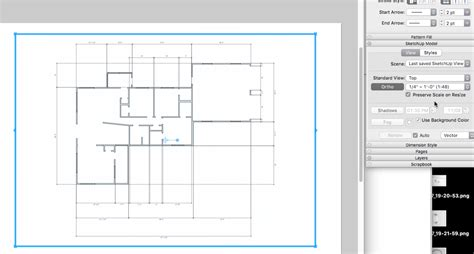 sketchup layout measurements create a floor plan only in 2d or layout pro sketchup