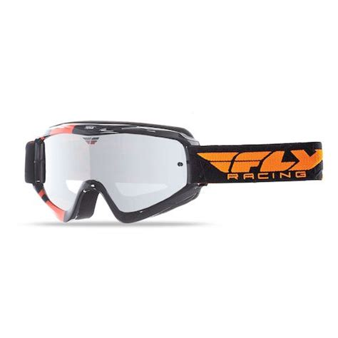 fly motocross goggles fly racing youth zone goggles revzilla