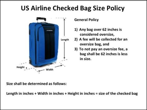 united check in luggage airline carry on baggage size limits