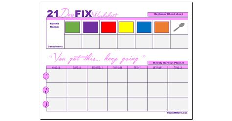 21 Day Fix Worksheets by 1000 Images About 21 Day Fix On 21 Day Fix