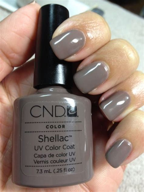 popular shellac nail colors cnd shellac rubble shellac attack pinterest shellac