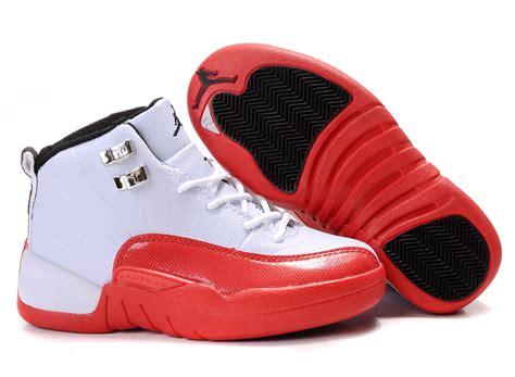jordans shoes for kid children air 12 white shoes aj kidsshoes0125