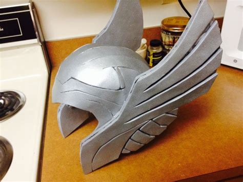 thor helmet template thor foam helmet my creation of armor made from foam