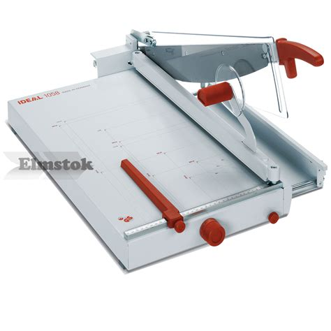 Rotary Trimmer Paper Cutter Ideal 0135 ideal 1058 professional desktop paper trimmer guillotine