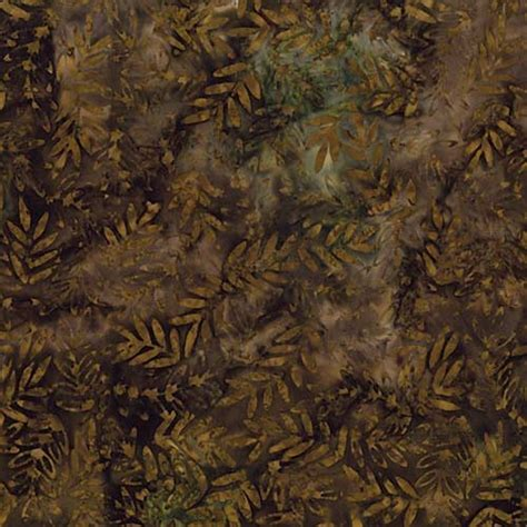 Batik Brown brown leaves batik fabric product details keepsake quilting