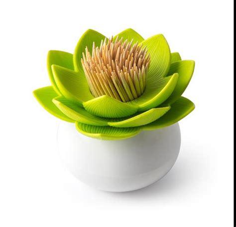 Lotus Toothpick Box lotus cotton swab box lotus cotton bud holder base room