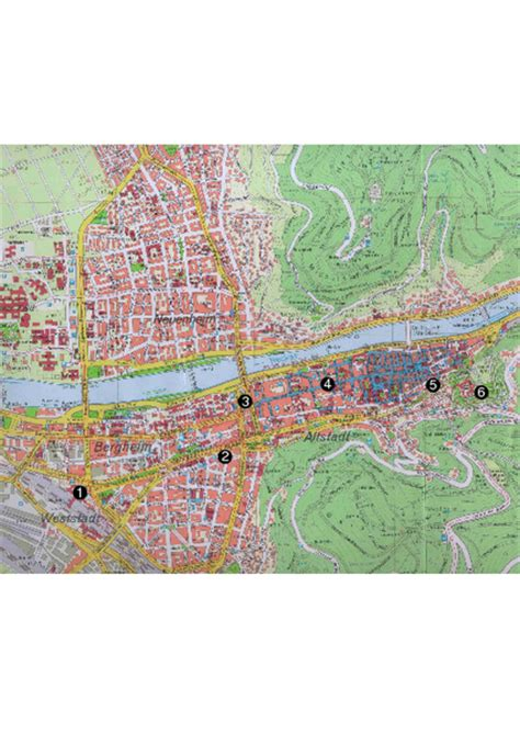 map heidelberg germany map of germany including heidelberg pictures to pin on