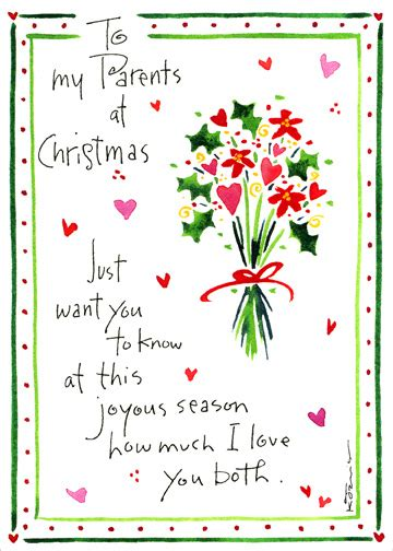 christmas card  recycled paper