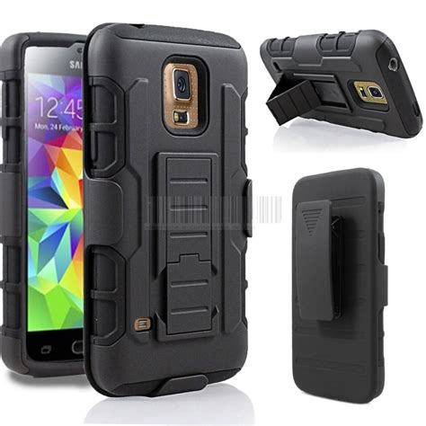 Samsung Galaxy S4 Rugged Armor Cover Casing Stand Bumper Kesing rugged armor hybrid holster stand with belt clip