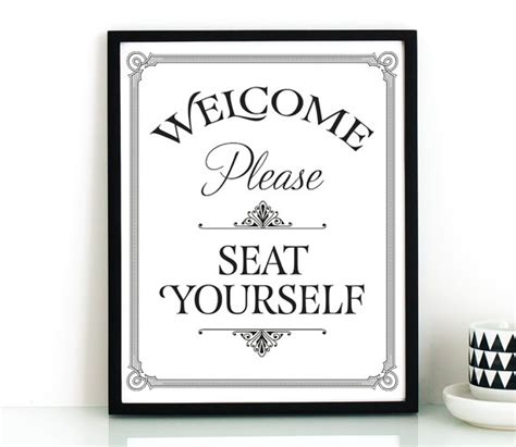 funny bathroom signs to print funny bathroom wall art printableplease seat by thecrownprints