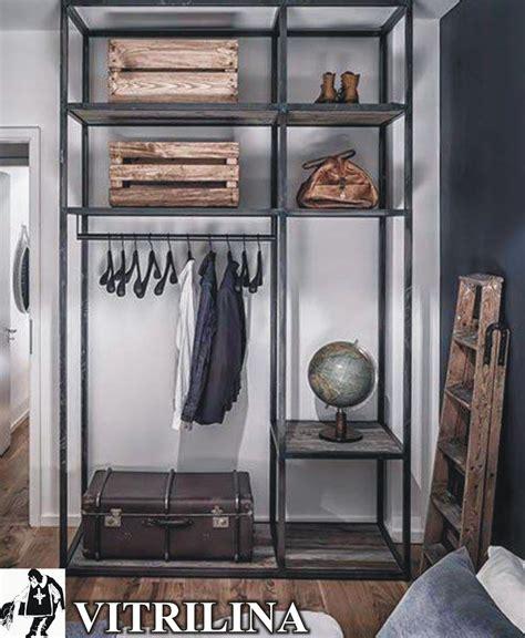 vestidor industrial estanteria modular perchero vestidor industrial 888
