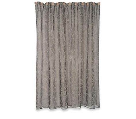 silver damask curtains french baroque damask antique silver shower curtain ebay