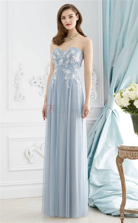 light blue tulle dress light blue a line tulle and lace sweetheart long