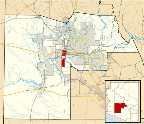 avondale arizona map avondale arizona