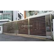 Stainless Steel Gate –