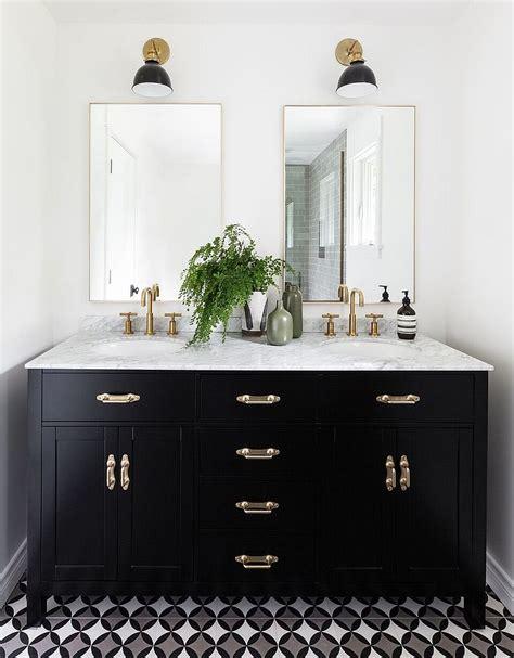 gorgeous black vanity ideas stylishly unique bathroom