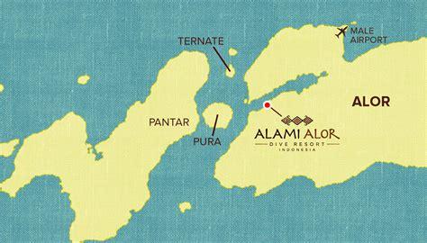 Location Alami Alor Dive Resort