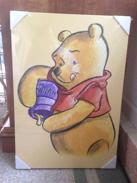 painting winnie the pooh nip disney winnie the pooh canvas wall craft ideas