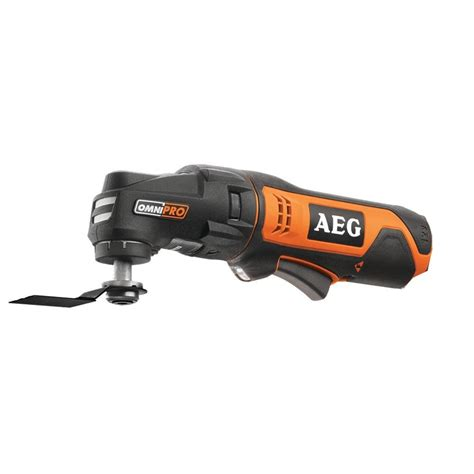aeg 12v cordless multi function tool skin only i n
