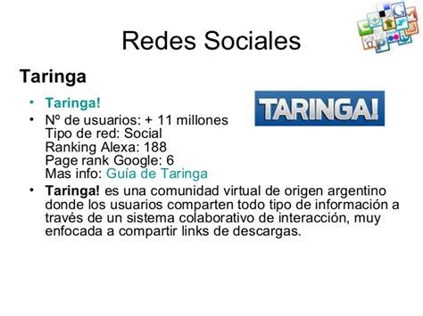 taringa las redes sociales m 225 s populares y exitosas de las redes sociales m 225 s populares
