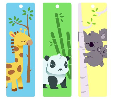 printable bookmarks design cute bookmarks for kids kiddo shelter printable