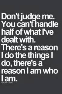 More than sayings don t judge me