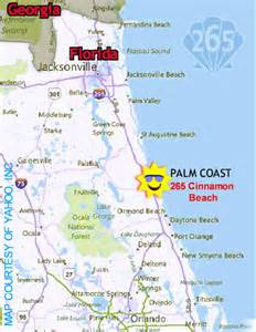 map of palm florida directions to palm coast florida