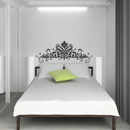 baroque headboard 2 wall sticker spin collective uk