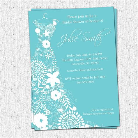 bridal shower invitation templates microsoft word 99