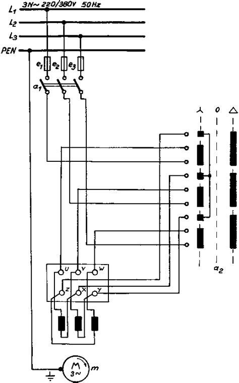 three phase delta wiring diagram delta starter