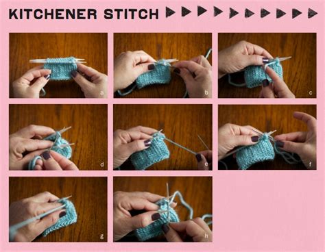 how to do kitchener stitch in knitting step it up knits by vickie howell yarnspirations